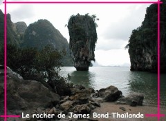 Wallpapers Trips : Asia Le rocher de James Bond
