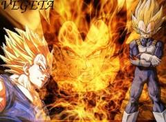 Fonds d'écran Manga Vegeta