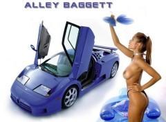 Fonds d'écran Charme Bugatti Sexy