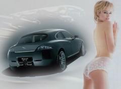 Fonds d'écran Erotic Art Jaguar R-D6