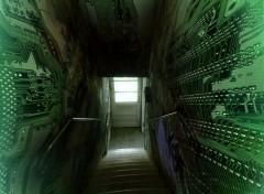 Fonds d'écran Fantasy et Science Fiction Accessing Matrix Kernel