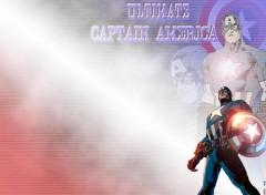 Fonds d'écran Comics et BDs Red's Wallpaper of Captain America 01
