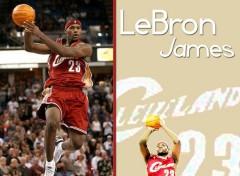 Fonds d'écran Sports - Loisirs LeBron James