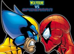 Wallpapers Comics Ruthay Wolverine Vs. Spiderman 01