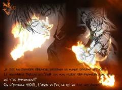Fonds d'écran Manga L'Ange du Feu