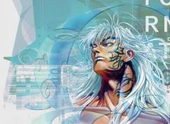 Fonds d'écran Manga cyberDS