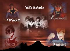 Fonds d'écran Manga YuYu Hakusho
