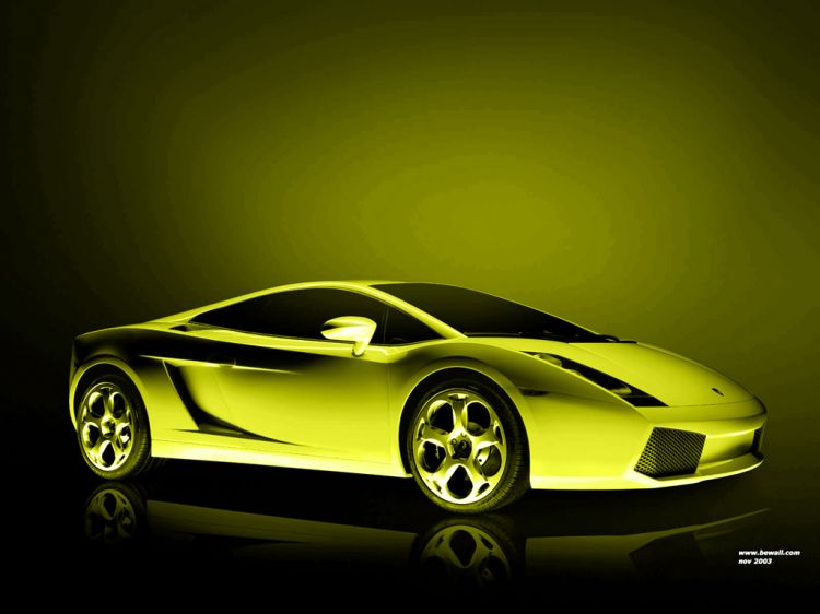 Fonds d'écran Voitures Lamborghini Lamborghini Gallardo by bewall - nov 2003