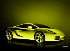 Fonds d'écran Voitures Lamborghini Gallardo by bewall - nov 2003