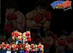 Fonds d'écran Manga Ruthay Hajime No Ippo 01