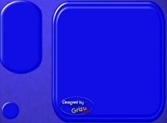 Fonds d'écran Art - Numérique buro bleu