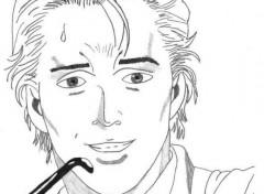 Fonds d'écran Art - Crayon Mick Angel