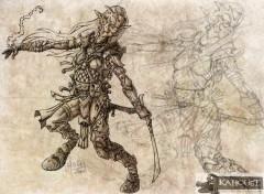 Fonds d'écran Fantasy et Science Fiction aventuriere brume