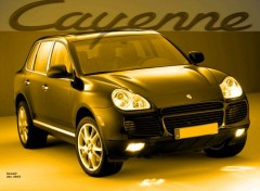 Wallpapers Cars Porsche Cayenne by bewall - dec 2003