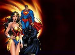 Fonds d'écran Comics et BDs DC TRIO