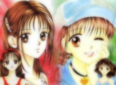 Fonds d'écran Manga Marmalade Boy