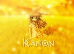 Fonds d'écran Manga Kanon in yellow