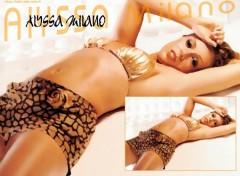 Fonds d'écran Célébrités Femme Alyssa Milano par Lalim