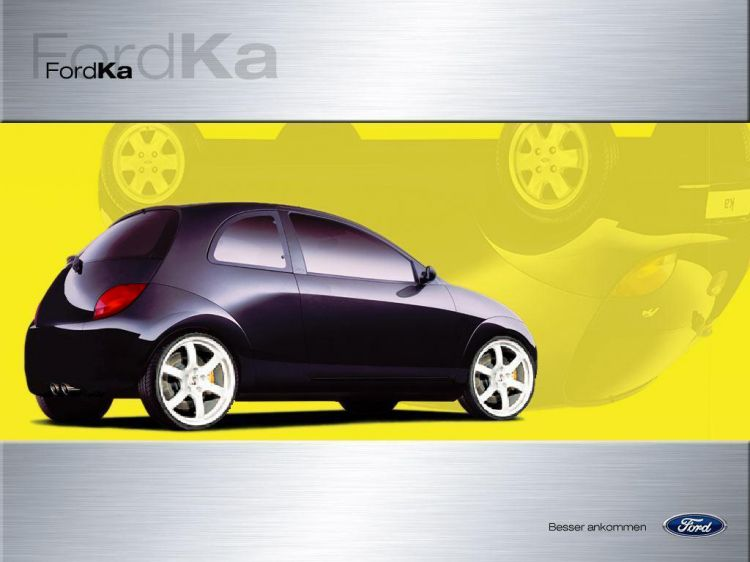 wallpapers cars wallpapers tuning une ford ka de sport by boulele. Black Bedroom Furniture Sets. Home Design Ideas