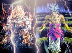 Wallpapers Manga Broly VS Goku