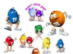 Wallpapers Brands - Advertising M&M's  Pour les gourmants