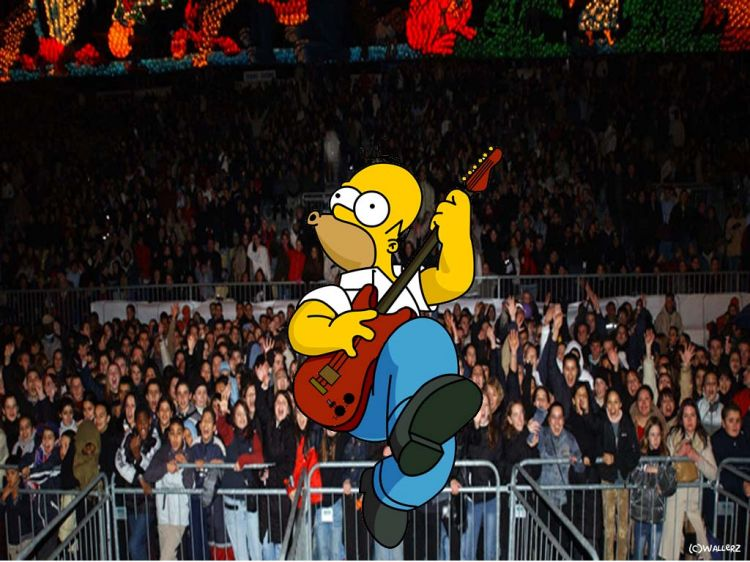 Fonds d'écran Dessins Animés Les Simpsons Homer show