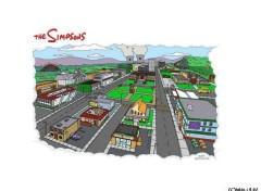 Fonds d'écran Dessins Animés Springfield
