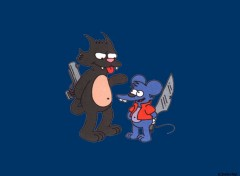 Fonds d'écran Dessins Animés Itchy & Scratchy