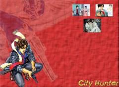 Fonds d'écran Manga Red City Hunter