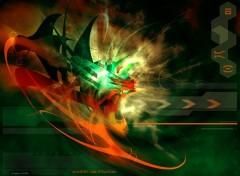 Wallpapers Digital Art Anger of Dragon