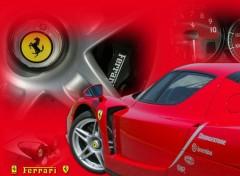 Wallpapers Cars Team Ferrari Enzo 'Cybersonic'