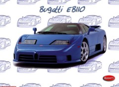 Wallpapers Cars Bugatti Team 'Cybersonic'