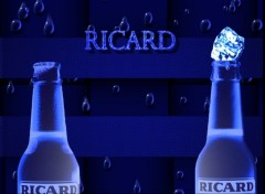 Wallpapers Objects Ricard Blue