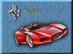 Wallpapers Cars Team Rosso 'Cybersonic'