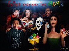 Wallpapers Brands - Advertising fallait manger les M&M's