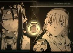 Fonds d'écran Manga Rosette et Chrno le pacte