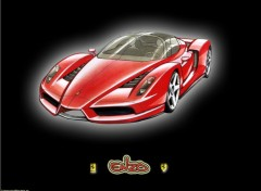 Wallpapers Cars Team 'Enzo' Cybersonic