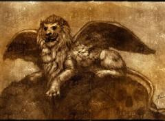 Wallpapers Digital Art Lion ailé