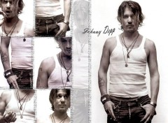 Fonds d'écran Célébrités Homme Johnny, le rebel!!