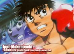 Fonds d'écran Manga Ruthay Hajime No Ippo Ippo Makunouchi 01