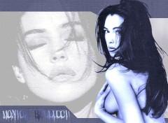 Fonds d'écran Célébrités Femme Monica Blue