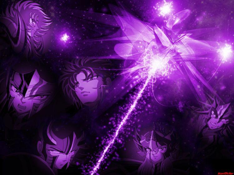 Fonds d'écran Manga Saint Seiya - Les Chevaliers du Zodiaque Spectres d'Hadès