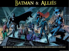 Fonds d'écran Comics et BDs Batman & Alliés