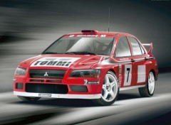 Wallpapers Cars Lancer Evolution VII