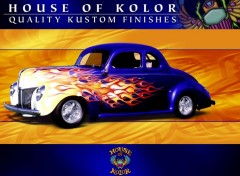 Wallpapers Cars flaming
