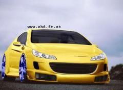 Fonds d'écran Voitures Peugeot 407 GT Coupé