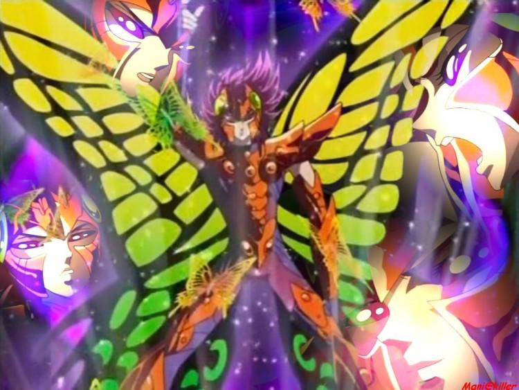Fonds d'écran Manga Saint Seiya - Les Chevaliers du Zodiaque Myu du Papillon