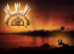 Fonds d'écran Art - Numérique Medine l'iluminée