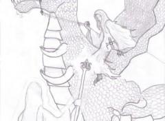 Wallpapers Art - Pencil Bien VS Mal