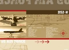 Fonds d'écran Avions B52-H